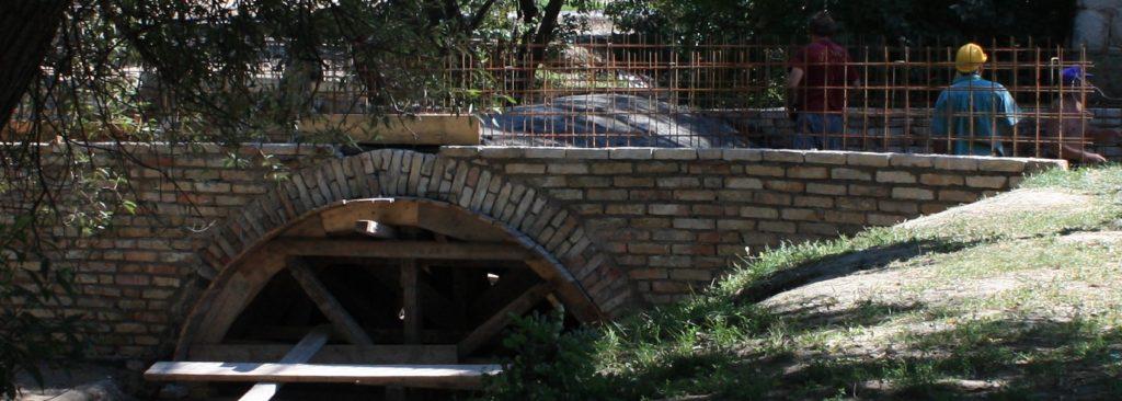 Füzes patak híd